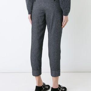 Closed Pants - Closed Stewart Cropped Trouser Pants Herringbone
